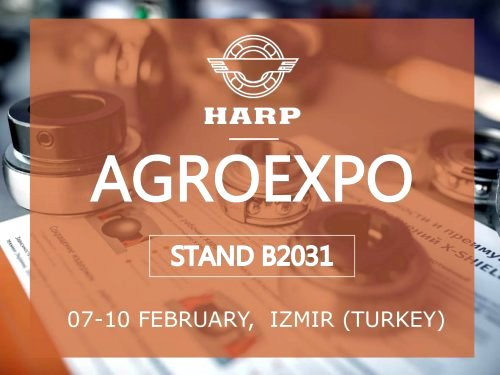 HARP to open exhibition season at the exhibition AGROEXPO (Turkey)