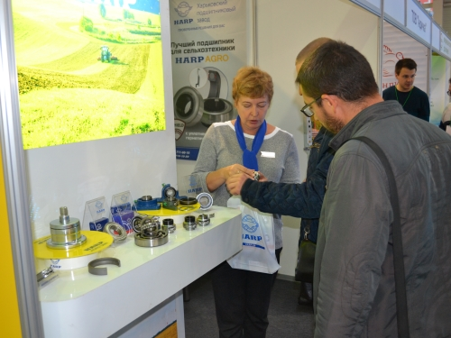 "HARP IN THE CENTRE OF ATTENTION OF VISITORS OF THE EXHIBITION ""AGROPORT EAST KHARKOV"""