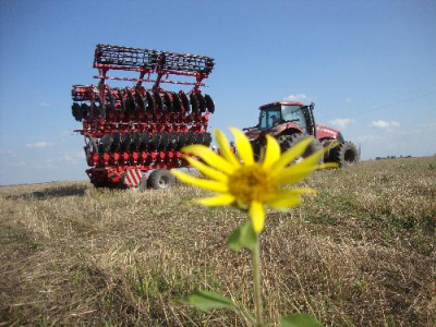 Lozova Machinery Is Testing Unique Heavy Disc Harrow