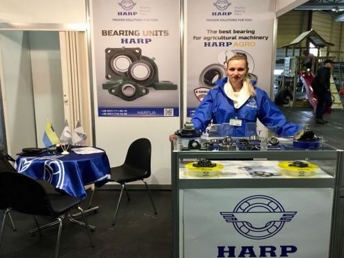 HARP CONCLUDED THE CONTRACT OF EXCLUSIVE DISTRIBUTION TO LATVIA after THE PARTICIPATION IN THE RIGA AGRO 2017