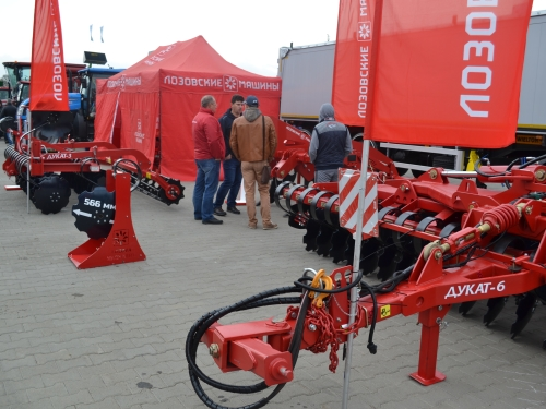 LOZOVA MACHINERY AT THE AGROPORT EAST KHARKOV