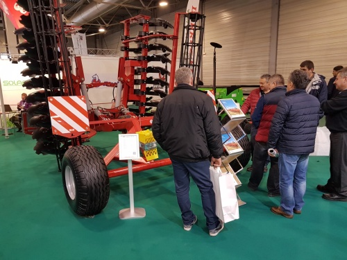 SUCCESS OF LOZOVA MACHINERY DISC HARROWS AT THE AGROMASHEXPO