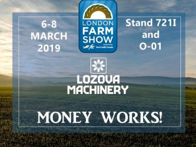 LOZOVA MACHINERY is ready for spring season in Canada