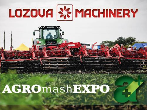LOZOVA MACHINERY to take part in the exhibition AGROmashEXPO (Hungary)