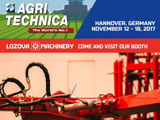 LOZOVA MACHINERY at AGRITECHNICA-2017: world premiere of innovations in agricultural machine building