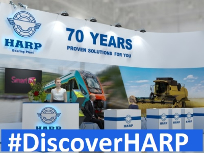 HARP CONTINUES THE DEMONSTRATION TOUR PARTICIPATING IN THE LARGEST WORLD EXHIBITIONS OF THE INDUSTRY