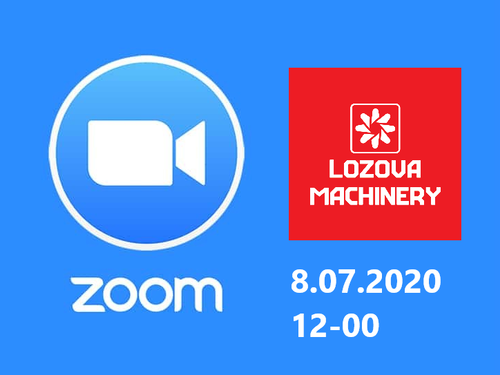 LOZOVA MACHINERY приглашает на видео-конференцию: Zoom