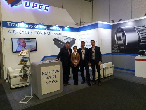 UPEC INTRODUCED INNOVATIVE PRODUCTS AT INNOTRANS 2016