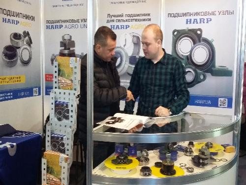 HARP Presented The Innovative Bearing Products At The Moldagrotech Exhibition