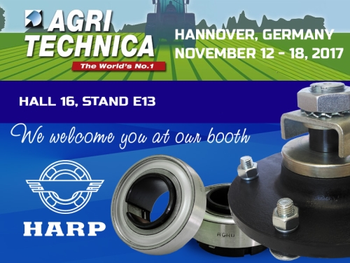 HARP will present the Ukrainian manufacturer of bearing products on the world market in Hannover (Germany)