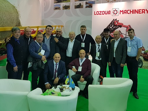 LOZOVA MACHINERY increases the sales level on the Kazakh market