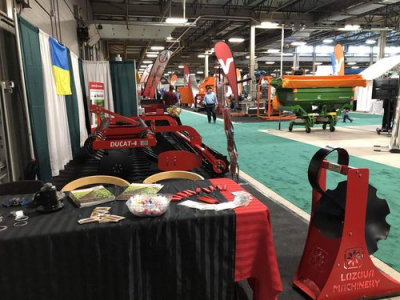 LOZOVA MACHINERY started agricultural year in Canada