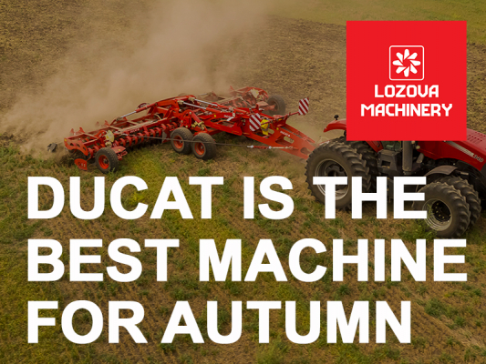 DUCAT is the best machine for autumn