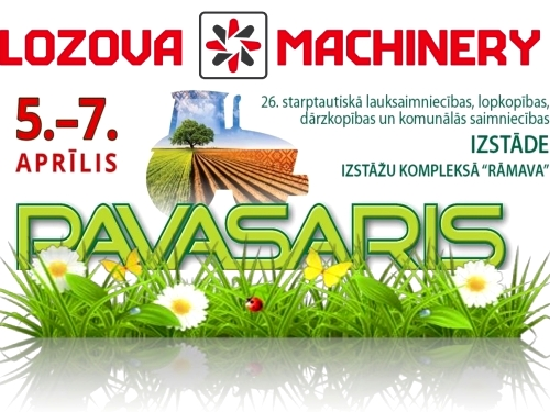 LOZOVA MACHINERY CONTINUES SPRING TOUR AROUND THE BALTIC STATES