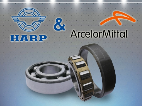 "HARP ESTABLISHED COOPERATION WITH ""ARCELORMITTAL"""