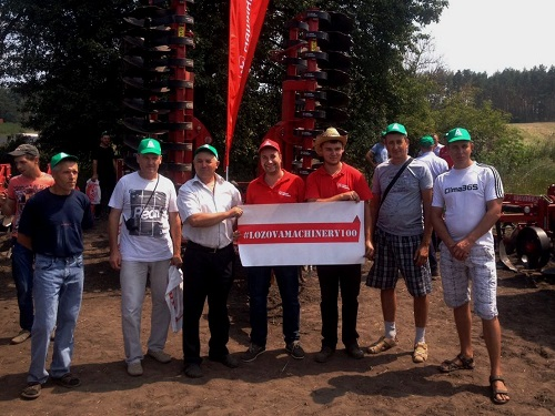 LOZOVA MACHINERY PRESENTED   ENERGY EFFICIENT IMPLEMENTS AT THE FIELD DAY IN POLTAVA REGION