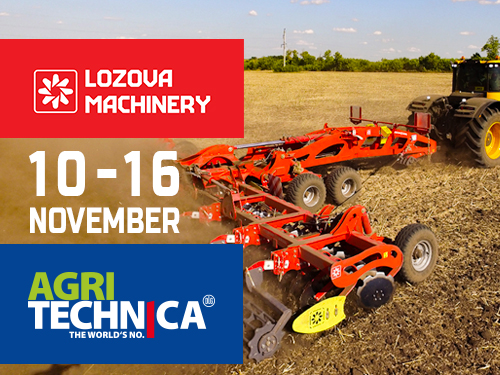 EFFECTIVE LOZOVA MACHINERY IMPLEMENTS AT AGRITECHNICA-2019