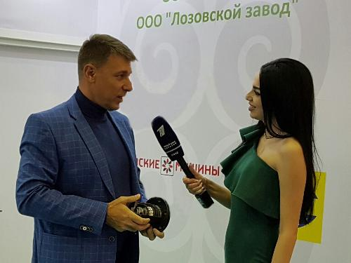 LOZOVA MACHINERY brand was presented at the KAZAGRO-2016 exhibition