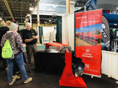 LOZOVA MACHINERY opened spring season in Canada