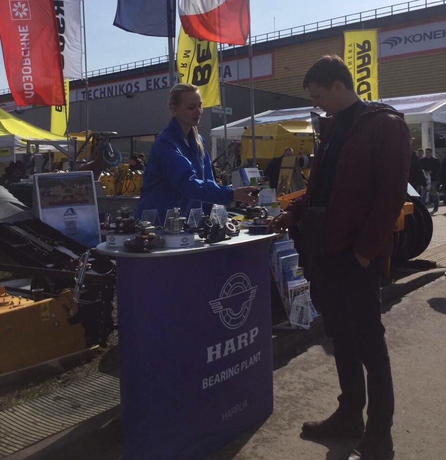 HARP bearings - exibition